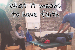 What it means to have faith